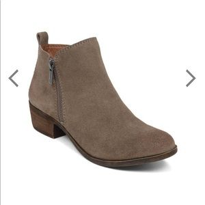 Lucky Brand Basel Suede Bootie